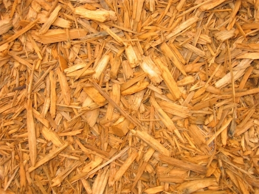 Residential Mulch Cedar Pine Colored Chips