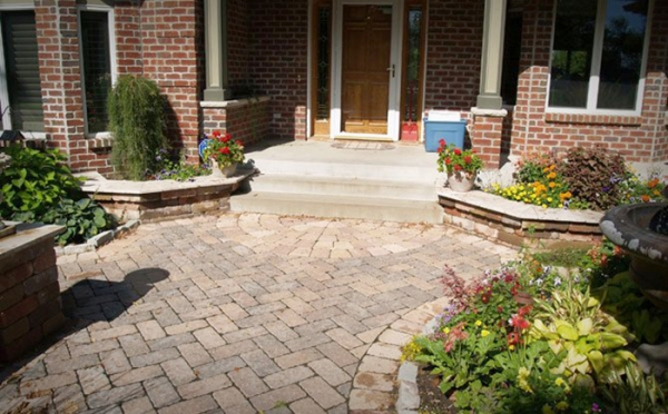 Patio Pavers Residential Patio Pavers Seatwallcolumns 800x600 Pictures To Pin