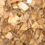Hardwood Woodchips, Oak playground chips