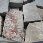 flagstone, wall block cut drywall