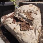 decorative stone accent boulder