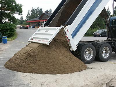 Ton Of Topsoil >> Top Soil Compost Circle B Landscape Supply