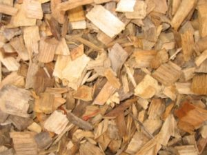 Hardwood Woodchips, Oak playground chips