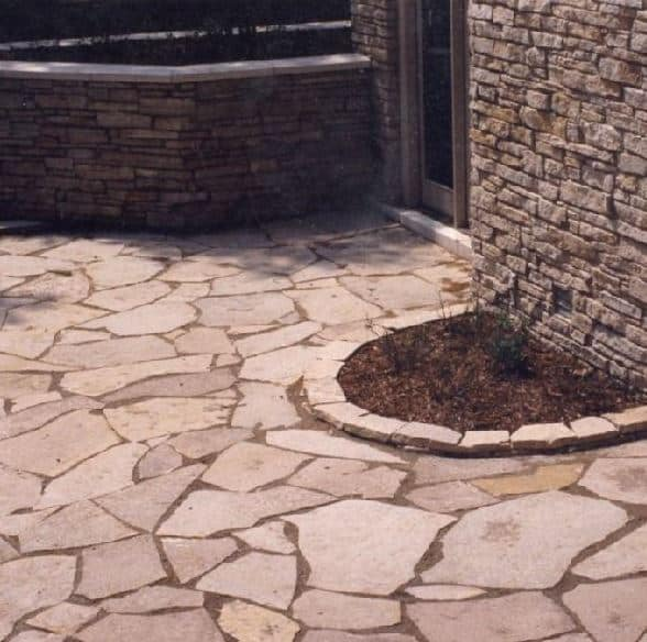 flagstone products - natural stone steppers  slabs  cut drywall block  steps