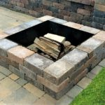 fire pit patio pavers