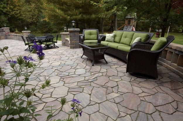 County Material Patio Pavers