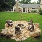flagstone steppers