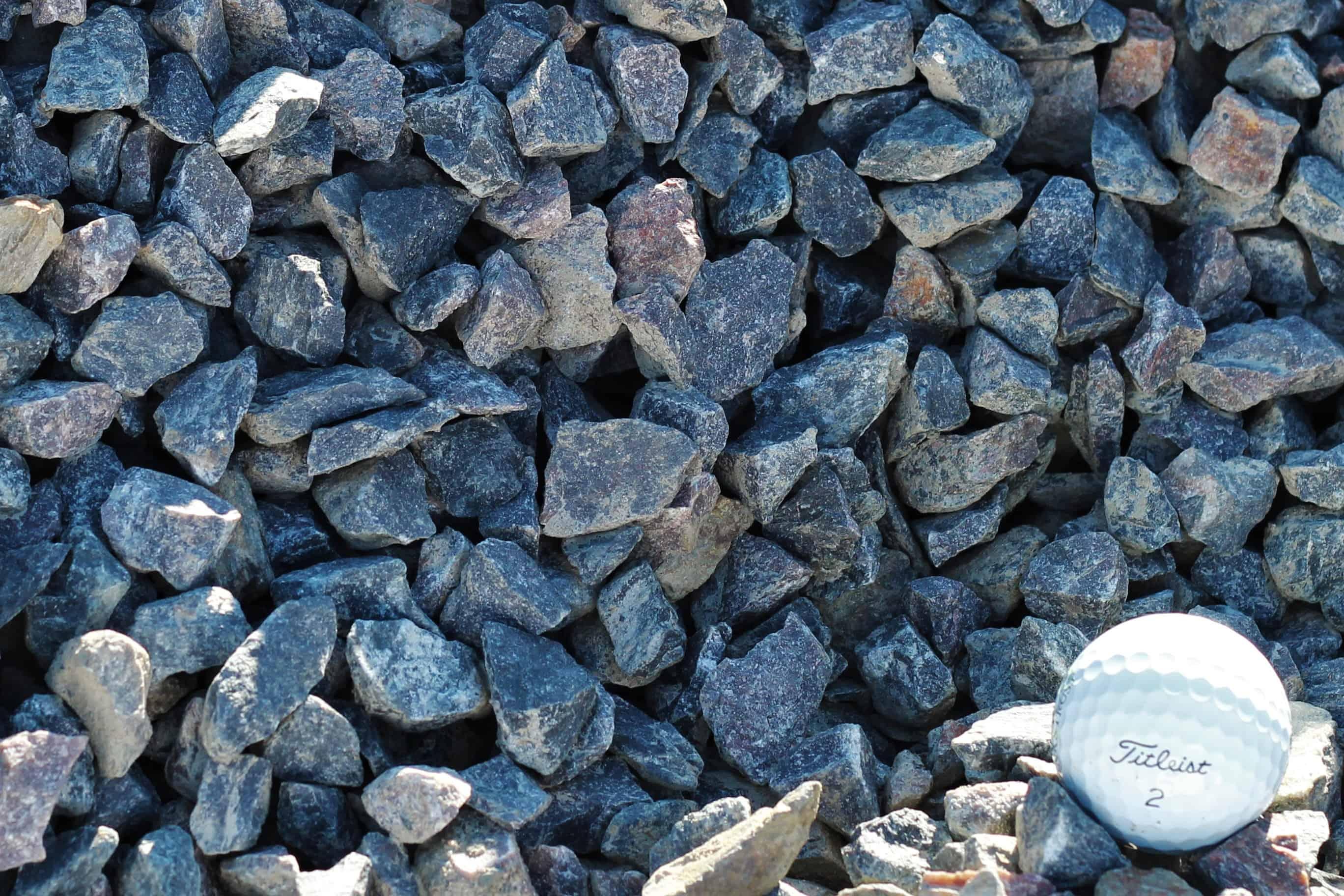 Blue Landscape Rock